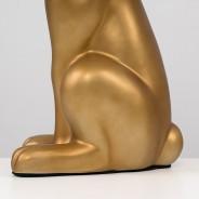 Lepus Matt Ceramic Hare Table Lamp  5 Gold