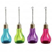 Hanging Light Bulb Shape Tealight Holder (Single) 2