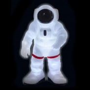 Light Up and Glow Astronaut Night Light 1 Lights up