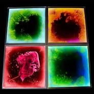 Light Up Liquid Sensory Floor Tiles 50cm 1