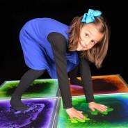 Light Up Liquid Sensory Floor Tiles 50cm 2