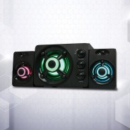 Zeta Light Up Gaming 2.1 Sound System 1