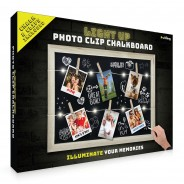 Light Up Photo Clip Chalk Board 3