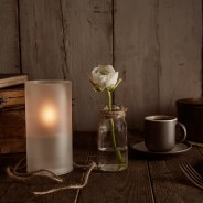 LightMe Frosted Bio-Oil Candle 2