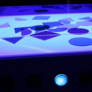 Sensory Light Table 5 Blue light