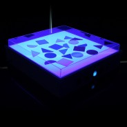 Sensory Light Table 7 Blue light