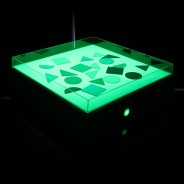 Sensory Light Table 8 Green light
