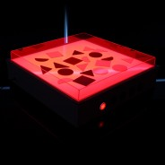 Sensory Light Table 9 Red light