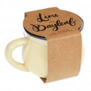 Lime & Bayleaf Scented Mug Candle 2