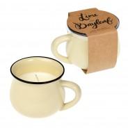Lime & Bayleaf Scented Mug Candle 3