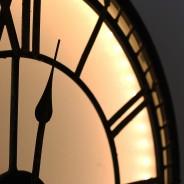 Back Lit Westminster Clock 2