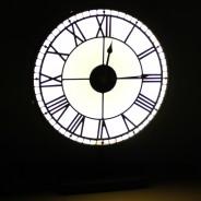 Back Lit Westminster Clock 3