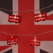Battery Operated London Bus Fairy Lights 1