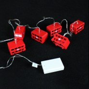 Battery Operated London Bus Fairy Lights 4