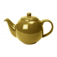 Gold Globe Teapot by London Pottery 1