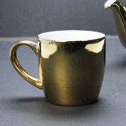 Gold Globe Mug by London Pottery 2
