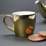 Gold Globe Mug by London Pottery 1