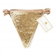 Luxe Gold Glitter Bunting 3