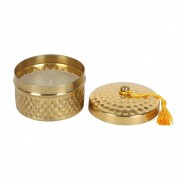 Luxury Scented Candles in Gold Pot  2