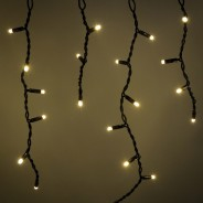 Lyyt Connectable Icicle Lights  6 Warm White