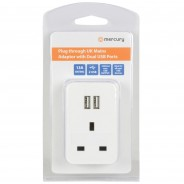 Mains Adaptor with Dual USB Ports 3