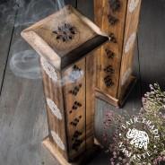 Mango Wood Incense Tower - Namaste Scents 2