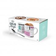 Grub Mugs - Sweet & Salty Microwave Recipe Mugs (2 pack)  5