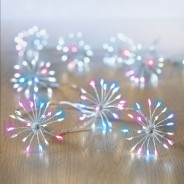 Micro Brights 400 LED Starburst Rainbow Lights 1