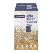 Micro Brights 400 LED Starburst Warm White Lights 2