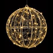 Microbrights Metal Ball 96 LED Decoration 1