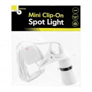 Mini Clip On Spotlight B22 Fitting 1