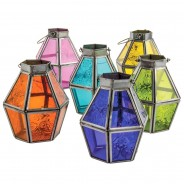 Mini Recycled Iron & Glass Lantern LT170 5