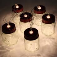 Mini Mason Jar Fairy Lights 1