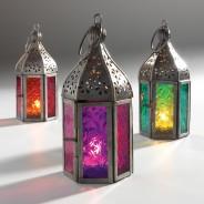 Mini Moroccan Lantern 1 One lantern supplied
