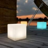 Mini Solar/USB Shapelight Cube 1