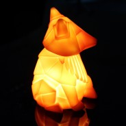 Mini USB/Battery Origami Animal Light 3 Fox