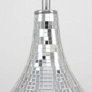 Levon Mirrored Tile Table Lamp 3