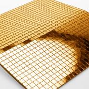 Glass Mirror Sheet 5 Gold