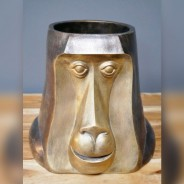 Happy Monkey Head Pot 4