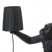 Seletti Monkey Lamp Shade - Black 2 Monkey Lamp Sold Separately