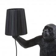 Seletti Monkey Lamp Shade - Black 1 Monkey Lamp Sold Separately