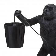 Seletti Monkey Lamp Shade - Black 3 Monkey Lamp Sold Separately