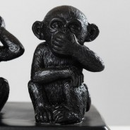 Three Wise Monkeys Table Lamp 5