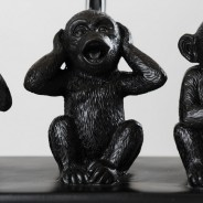 Three Wise Monkeys Table Lamp 4