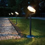 Solar Montana Post Light 1 Single light supplied