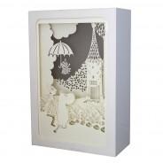 """Moomin Shadow Box """"Umbrella"""" 3"""