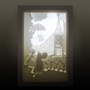"""Moomin Shadow Box """"Umbrella"""" 1"""