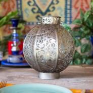 Morocco Globe Lantern 4 Medium (26cm)