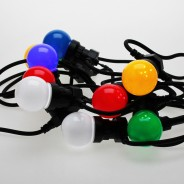 Multi Coloured Connectable Festoon Lights 5