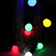 Multi Coloured Connectable Festoon Lights 1